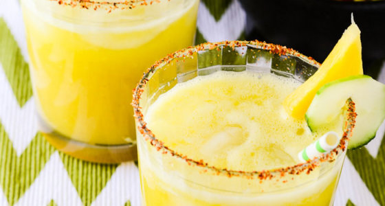 Cucumber Pineapple Margarita
