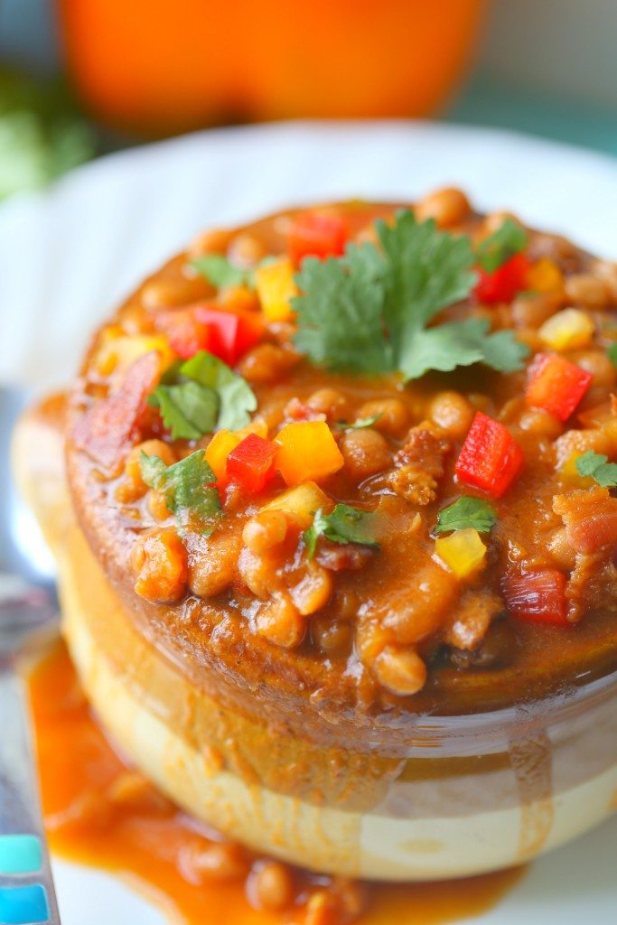 Homemade Baked Beans w/ Amaretto and Bacon | Crock Pot Baked Beans