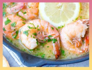 Lemon Shandy Peel and Eat Shrimp