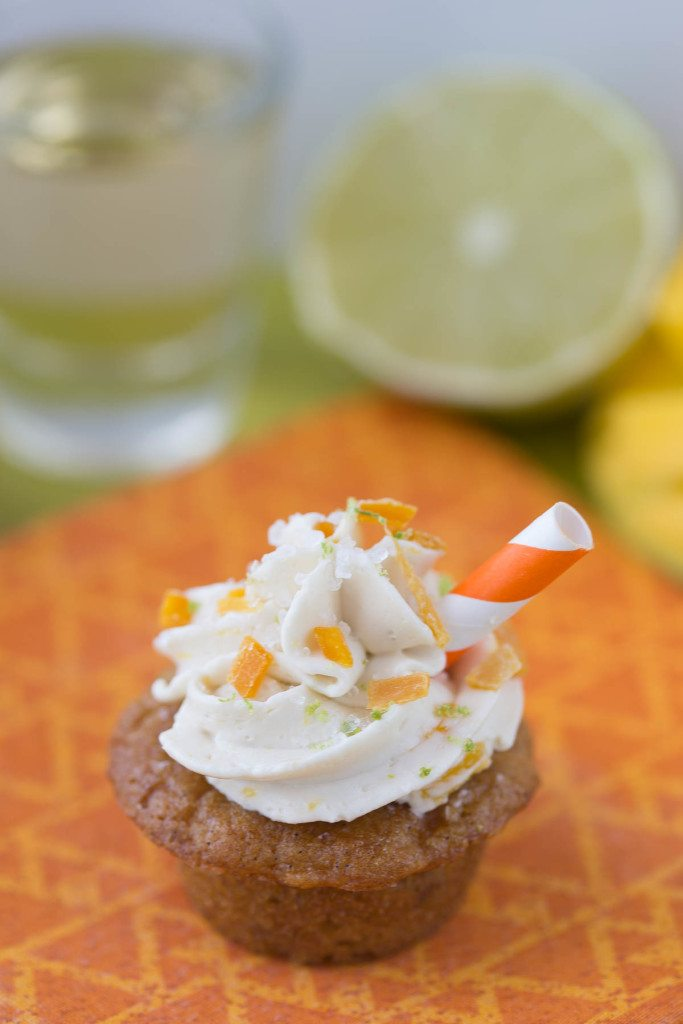 Mini Caramelized Mango Margarita Cupcakes: These gluten-free, grain-free, and refined sugar-free mango margarita cupcakes are insanely delicious, and you'd never know they were full of healthy, good for you ingredients!   www.slimpickinskitchen.com