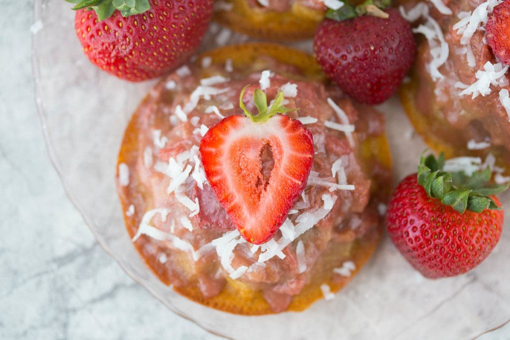 gluten-free & refined sugar-free w/ vegan option Strawberry Rhubarb ...