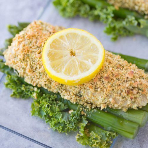 Coconut-Cashew Crusted Mahi-Mahi by Slim Pickin's Kitchen | Epicurious ...