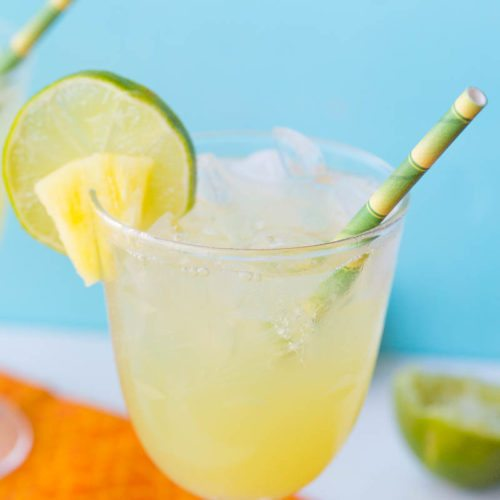Pineapple Passionfruit Spritzers: These passionfruit vodka spritzers are light and fizzy and are the perfect cocktail to sip on a hot summer day.
