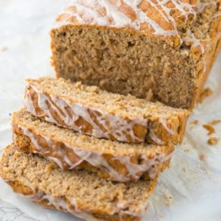 Chia and Chai Breakfast Bread: A seductively spiced, no-knead whole wheat bread that's the perfect quick breakfast on a crisp fall morning!