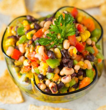 Texas Caviar | Black-Eyed Pea Dip