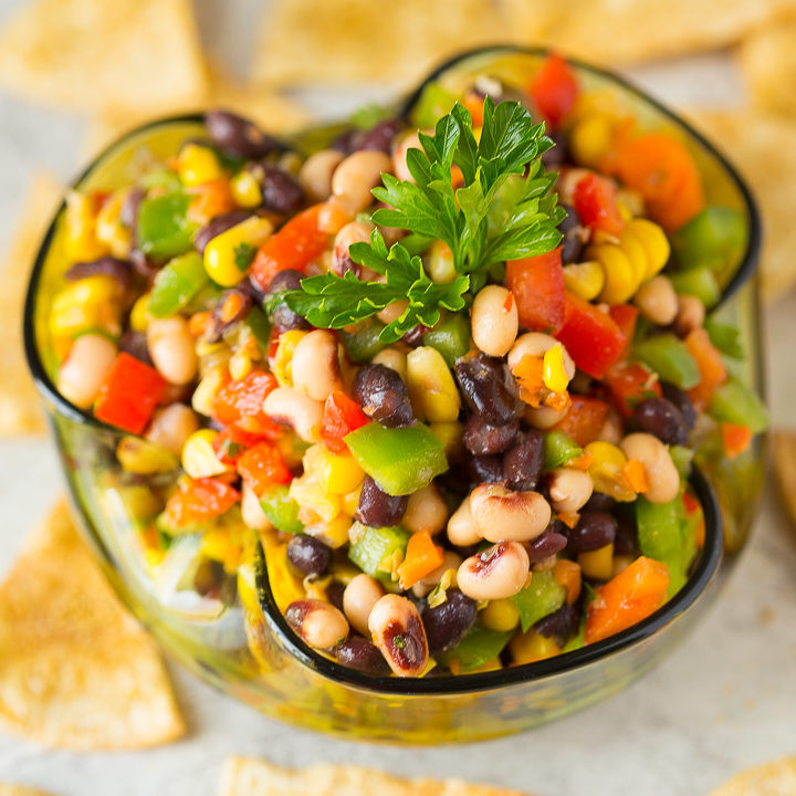 Texas Caviar | Black-Eyed Pea Dip