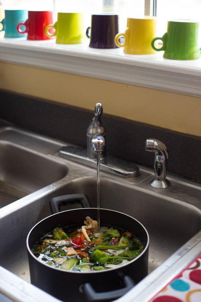 Easy Homemade Vegetable Stock-3