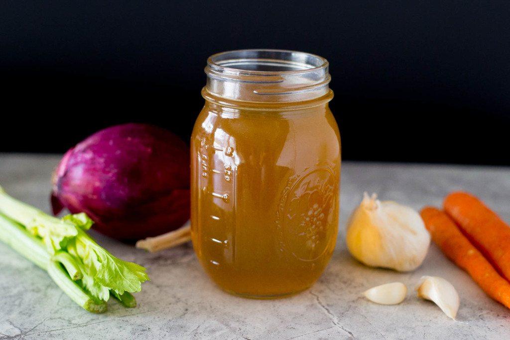 Easy Homemade Vegetable Stock-5