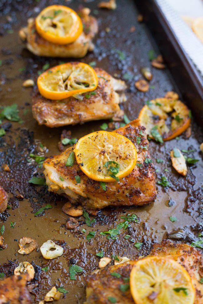 Baked Lemon Pepper Chicken Recipe | Easy Dinner Recipes