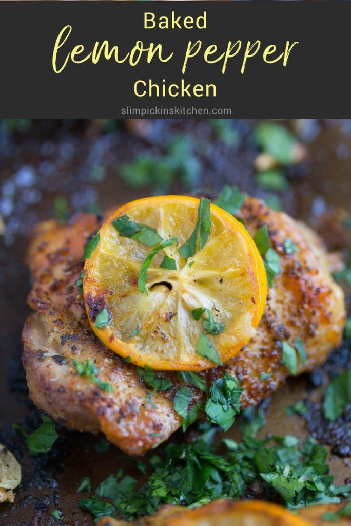 Baked Lemon Pepper Chicken   Easy Dinner Recipes