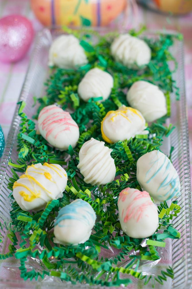 White Chocolate Coconut Cream Eggs | Homemade Easter Candy