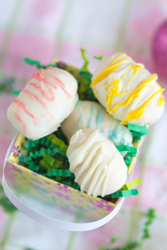 White Chocolate Coconut Cream Eggs | Easter Candy