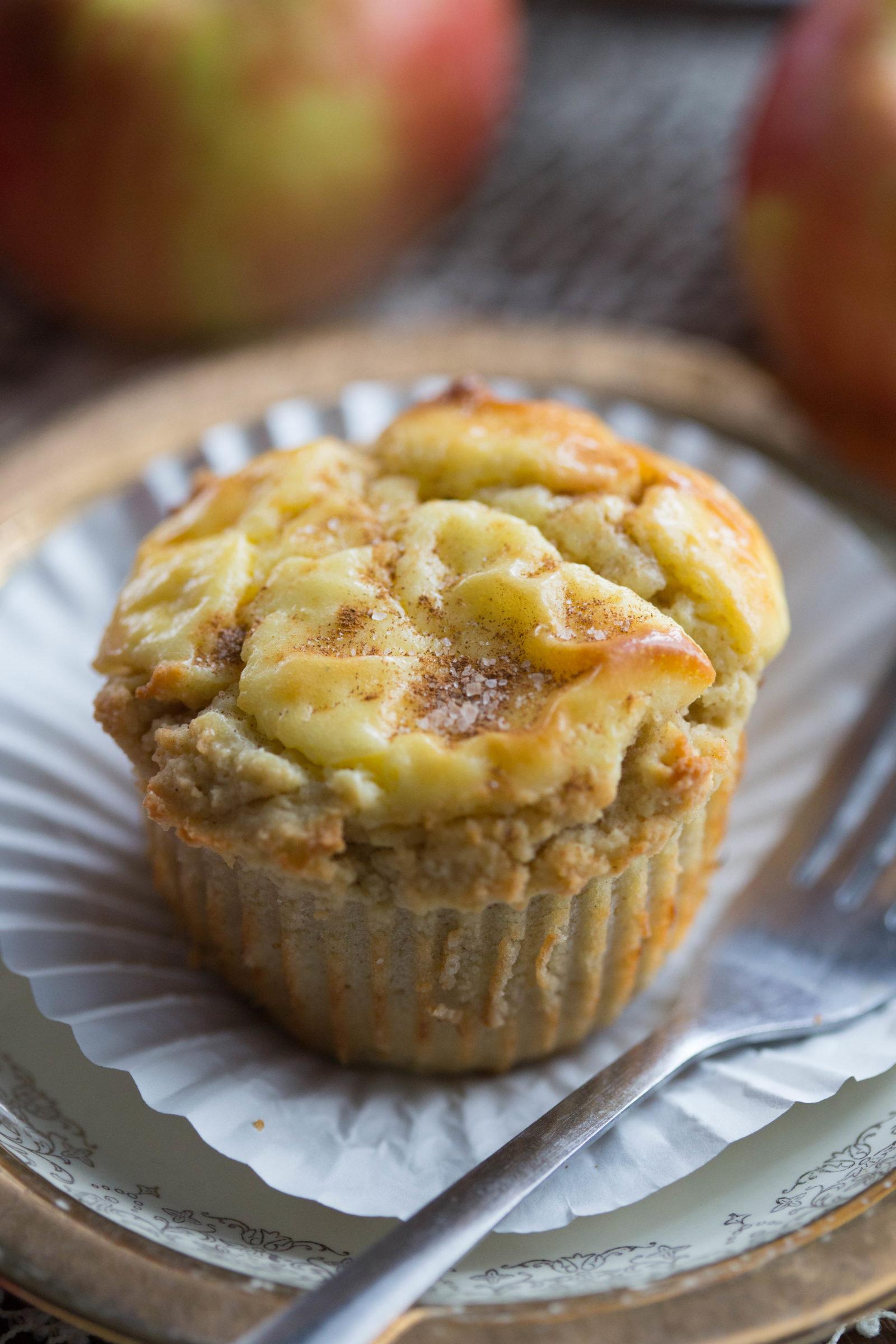 Apple Cinnamon Cheese Danish Muffins