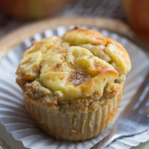 Apple Cheese Danish Muffins | Gluten-Free Muffins