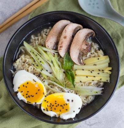 Instant Pot Tonkotsu Ramen from The Crumby Kitchen and a Cookbook Giveaway!