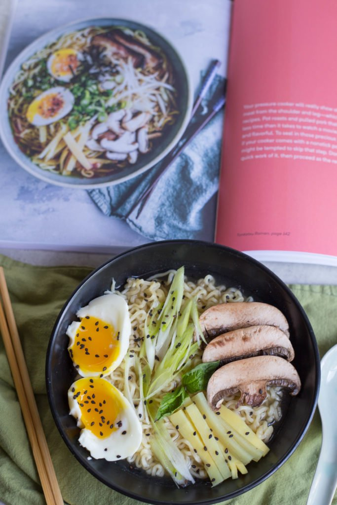 Instant Pot Tonkotsu Ramen from The Crumby Kitchen | Instant Pot Recipes