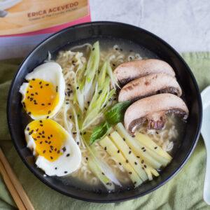 Tonkotsu Ramen from The Crumby Kitchen Cookbook Giveaway!