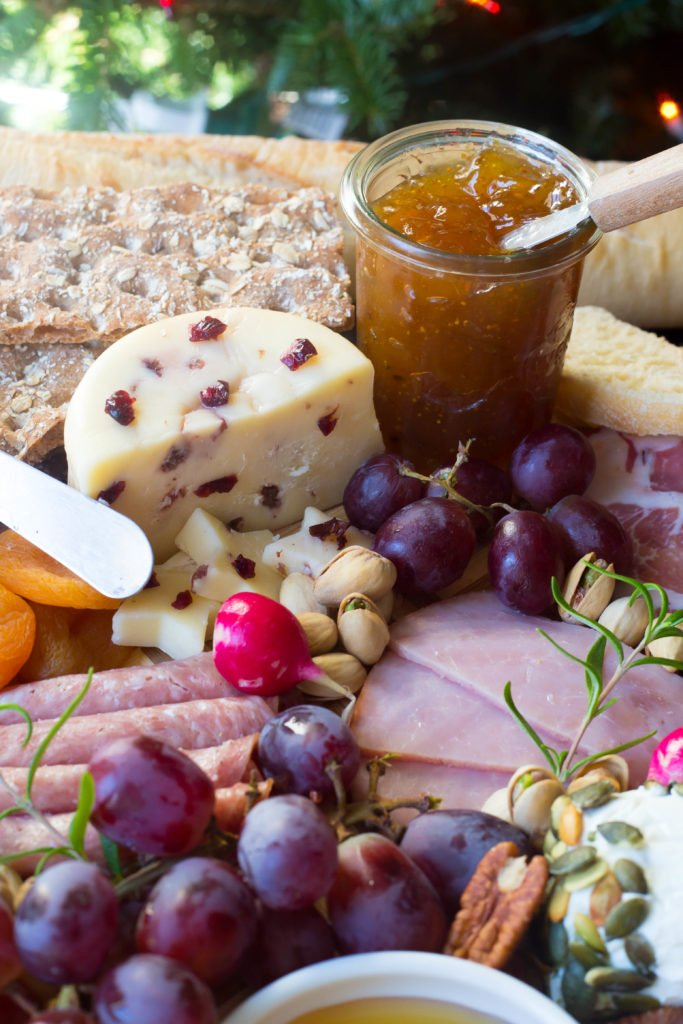 Christmas Charcuterie Tray   Easy Holiday Appetizer