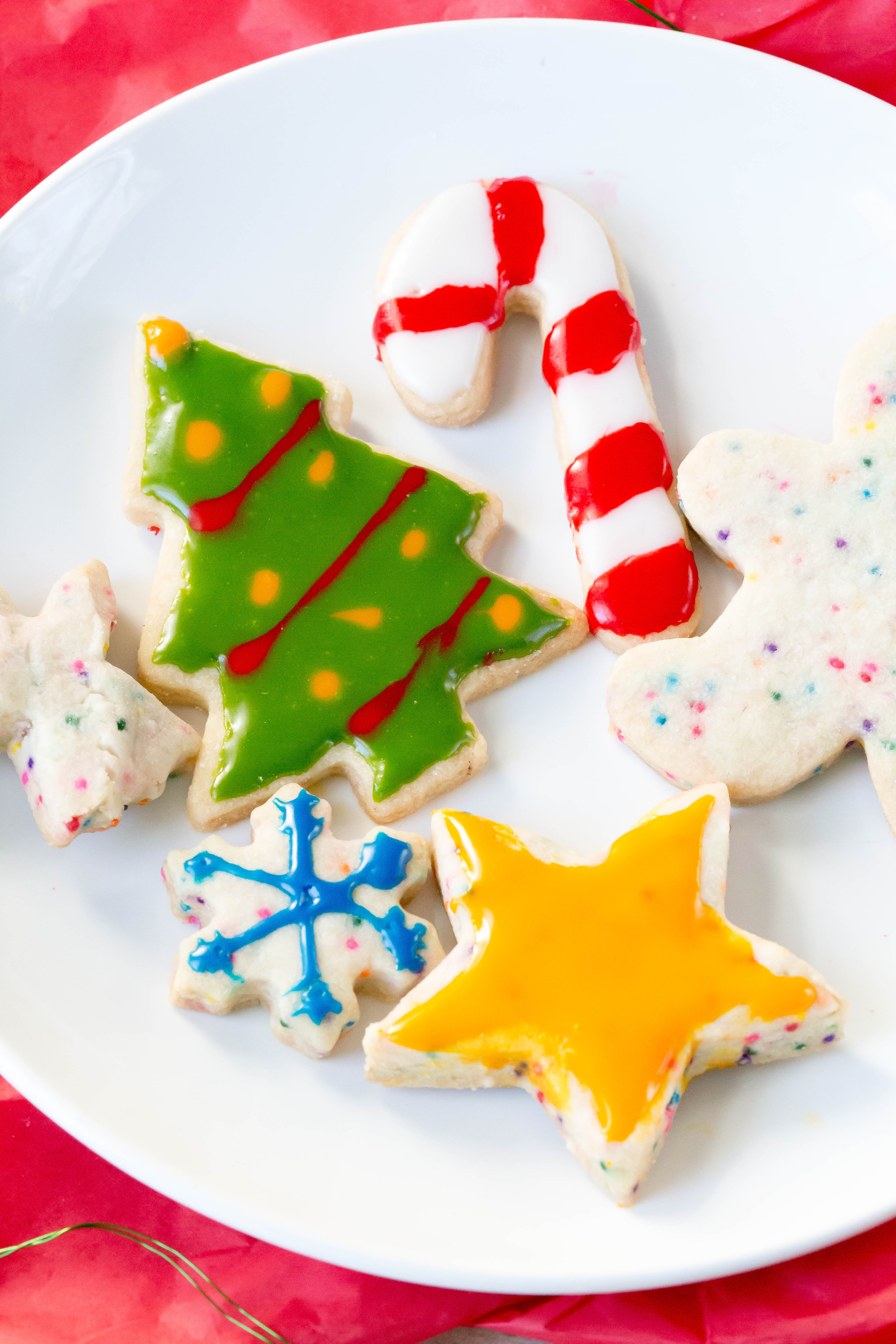 Easy Cut-Out Sugar Cookie Recipe | Easy