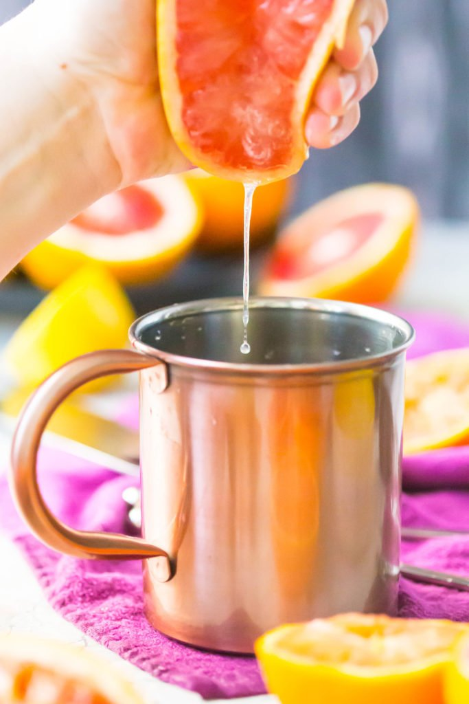 Winter Citrus Moscow Mule   Easy Moscow Mule Recipe