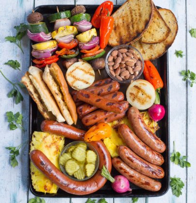 25 Minute Summer Grill Party Platter