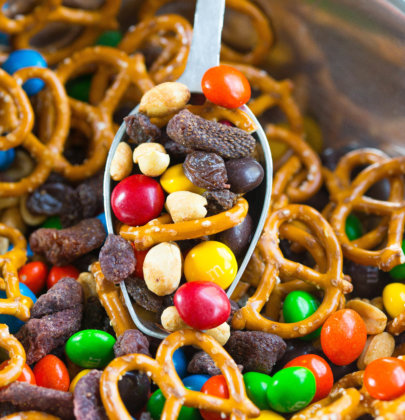 Peanut Butter and Jelly Trail Mix