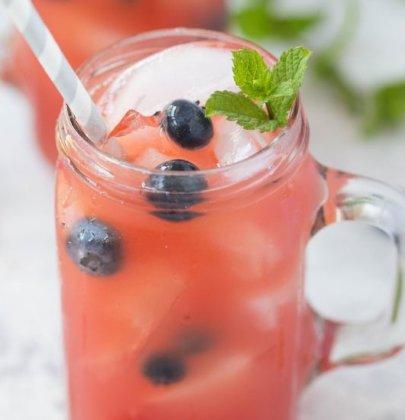 Watermelon Rum Runner Cocktails
