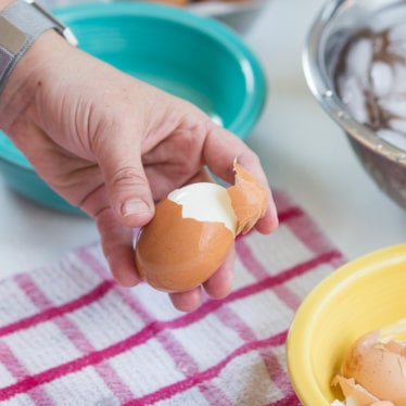 Perfect Easy Peel Hard Boiled Eggs in the Instant Pot