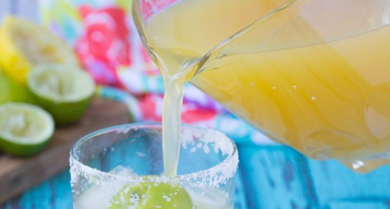 The Best Homemade Margarita Mix