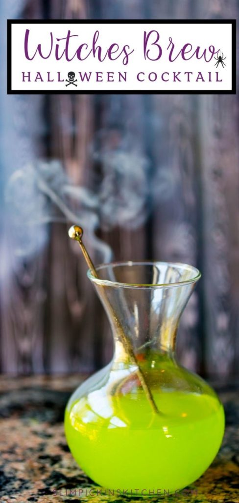 Witches Brew Cocktail Pinterest Image