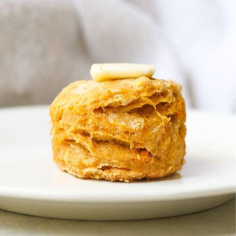Southern Sweet Potato Biscuit Recipe Hero Image